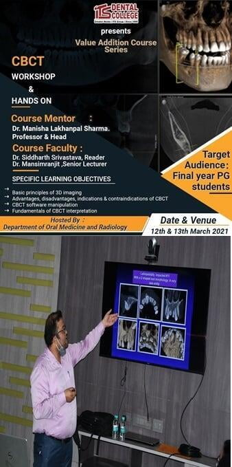 Value Addition Course Series: CBCT Workshop and Hands-on