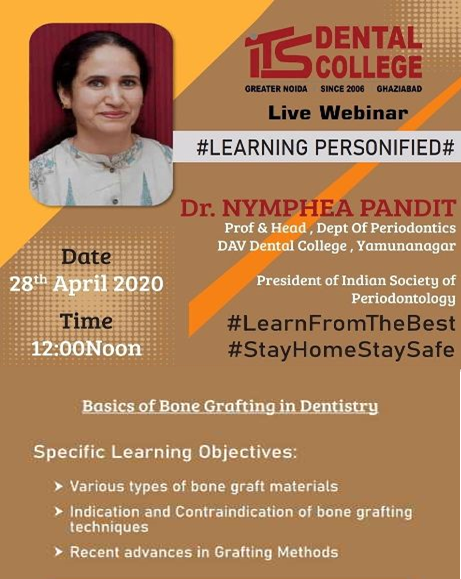 Basics of Bone Grafting  Webinar ITS Dental College
